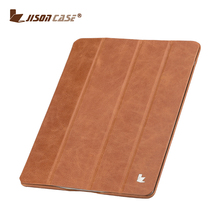 Jisoncase Four Folding Case Cover Tablet PC Smart Cover for iPad 2 3 4