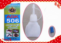 2016 HOT sale adhesive glue with 3g plastic bottle packing, bond within short time