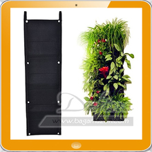 7 Pockets Vertical Living Wall Garden Planter Organizer Felt Growing Bag