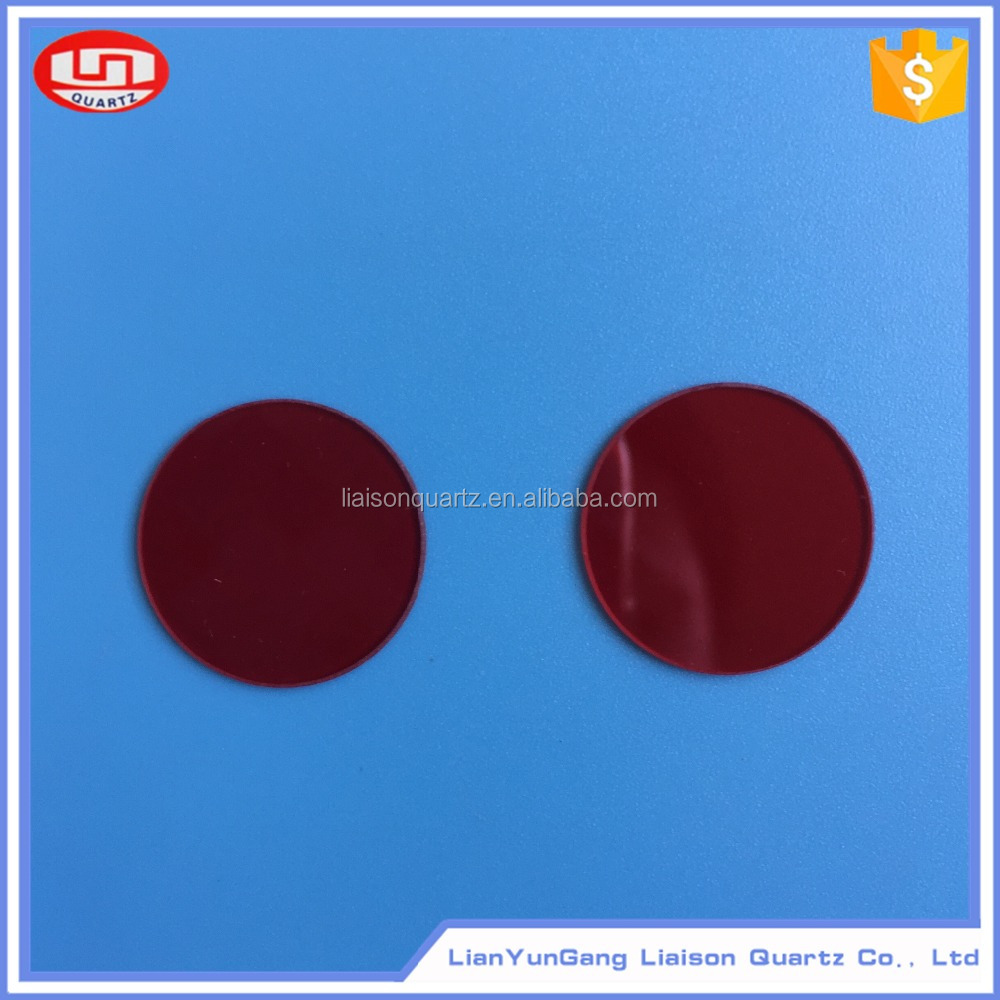 Red color High pass Optical filters from China