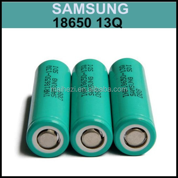18650 high drain INR18650 13J 13L 13Q lithium ion battery Samsung 18650 3.6V 1300mAh battery cells