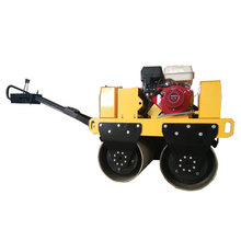 SVH-50 walk behind double drum vibratory road roller