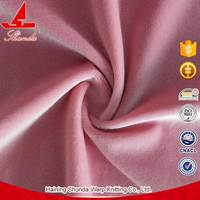 2016 Hot Sale Shrink-Resistant Durable Robe Velour Fabric