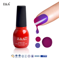 EA soak off OEM private label nail polish high quality changeable gel polish