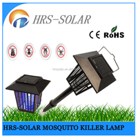Outdoor flies mosquitoes killing home garden pest trap solar insect killer light
