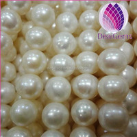 8-9mm AA+ round freshwater pearls wholesale freshwater pearl strand
