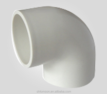 large diameter PVC 90 eblow/ pvc pipe and fitting/ pvc drain fitting