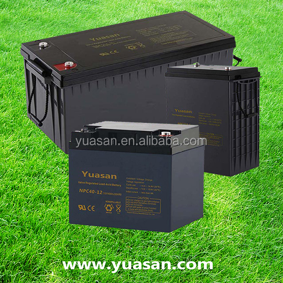 Professional 12V 70AH Gel Solar Panel Sealed Lead Acid Rechargeable AGM Battery -NP70-12