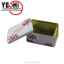 Vietnam Robusta & Arabica organic rectangular coffee tin boxes