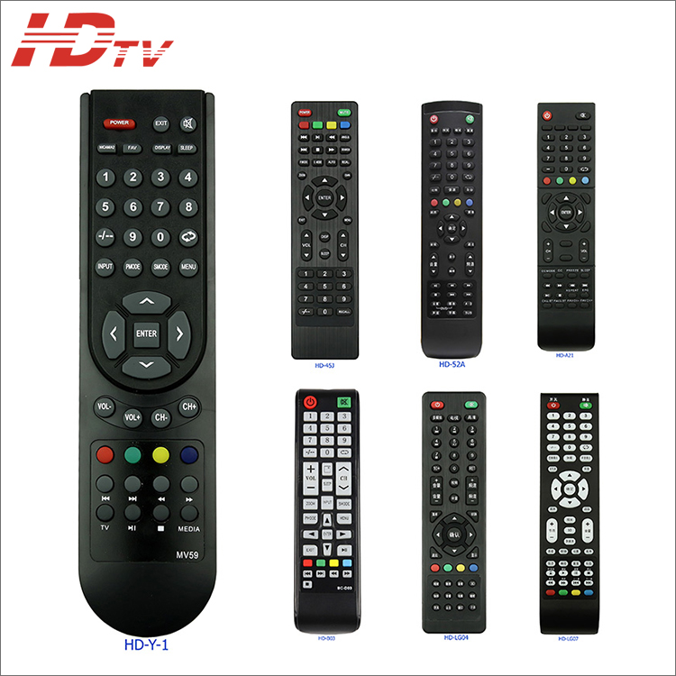 Custom Made Universal Master TV Remote Control for LCD LED TV