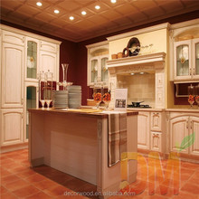 Wooden design kitchen cabinet with pantry solid wood manufacturer