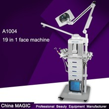 19 in 1 Facail Care and Face Lifting Cleaning Beauty Parlor Instrument For Sale