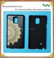 2016 New product bamboo cell phone case, Bamboo mobile phone cover