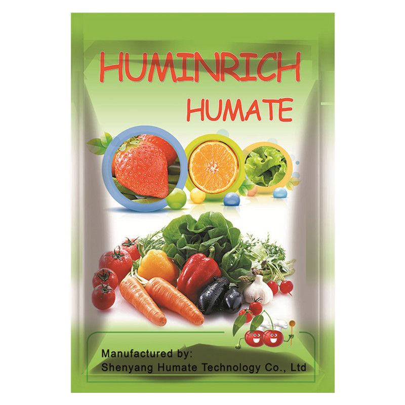 Huminrich 5kg OEM Package Water Soluble Potassium Humate Humic Acid For Human Consumption