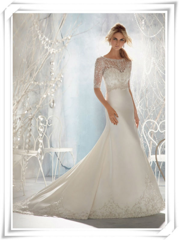 2014 newest designs fashion plus size wedding gowns and bridal dress 2013