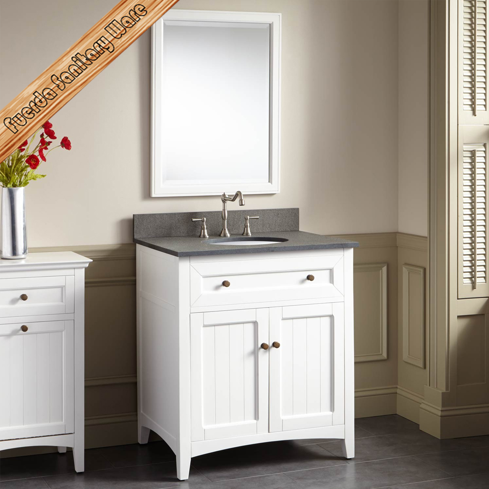 Solid wood bathroom furniture vanities cabinet buy for Bathroom vanities and cabinets
