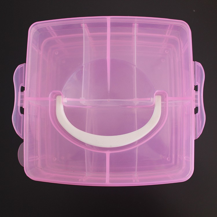 PPB-28 compartment plastic plastic jewelry box