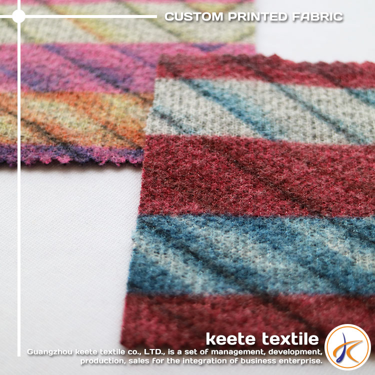 (J03#)100%Polyester simple design knitting fabric