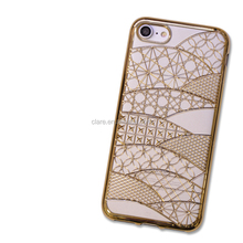 Fashion for iphone case,electroplating tpu case factory wholesale for iphone 6/7 case