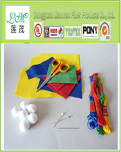 printed felt, colorful fabric, printed polyester sheets for kids handicrafts
