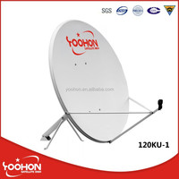 Strong outdoor type 1.2m satellite dish