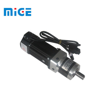 servo motor with 1:5 ratio gearbox