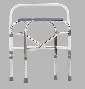 Most excellent hospital steel commode chair with bedpan for patients