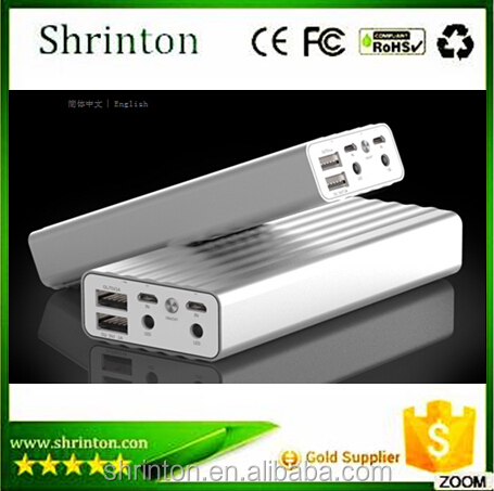 Dual Power bank 20000mah for all digital from China Factory