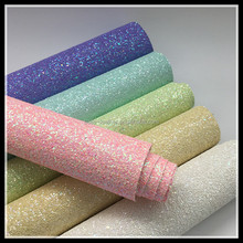 Sparkling Dazzling Chunky Glitter Fabric For Hair Bows
