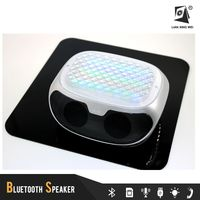 q98 outdoor speakers bluetooth box shape mini bluetooth speaker with led lights