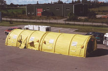 Inflatable Treatment Rescue Medical Tent system kit.