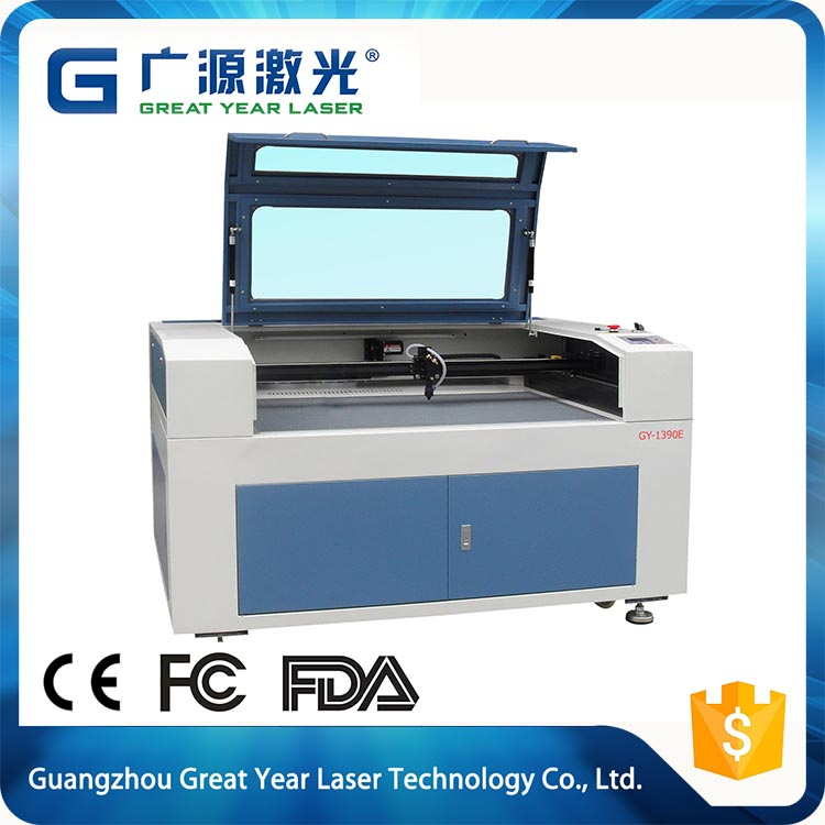Great Year 1390E wood acrylic desktop laser cutting machine , laser cut machine , laser cutting machine price