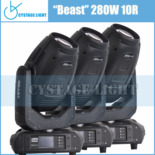 Light For Stage Decoration 10R Beam Spot Wash 3 in 1 Moving Head Light 280w Robe <strong>Pointe</strong> Moving Head Light Sky