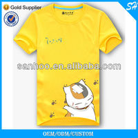 2016 Latest Tee Shirt For Child With Cartoon