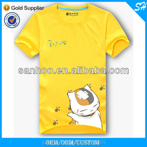 2016 Wholesale Price New Design Latest Tee Shirt For Child With Cartoon