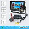 4 channels HD split screen control box, surround view cameras,video splitter Preview and Recording cctv dvr h 264 XY-6029MDVR