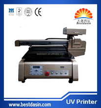 2014 New Product Flatbed printer A2 Digital Printer Dx6 head Used T Shirt book printing machine brother pvc card printer for You