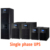 Online UPS single phase three phase kva three phase modular ups
