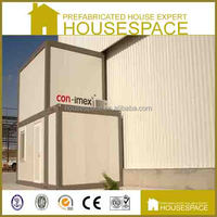 Panelized Solid Steel Prefab Shipping Living Container Homes House