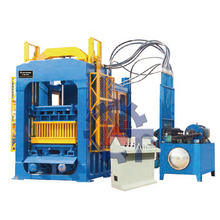 QT10-15 gypsum automatic commercial concrete hollow block making machine for sale
