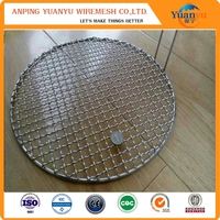 Stainless Steel Barbecue Grill/Galvanized Crimped barbecue grill mesh