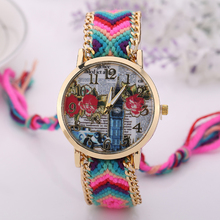 Best Sale New Brand Watches Top Quality Women Nylon Watch Wristband Watch Top Brand