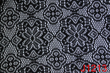 100 Polyester Stretch Crochet Fabric for Sale