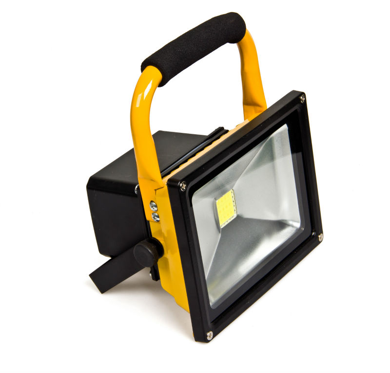 20W rechargeable led flood lights for Utilities, Search and Rescue, Emergency Services, CE, ROHS approved