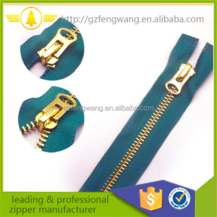 3# Aluminum Metal Zipper or Zips for garment