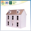 Wooden Doll House Furniture Play Toy House for Kids