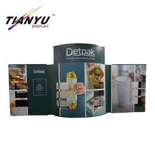 Roll up banner <strong>PVC</strong> &amp; Fabric popup display booth for trade show