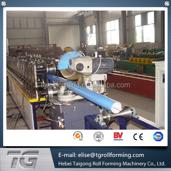 high graden Downspout / Rain Spout Pipe Roll Forming Machine For Rain Water 7.5Kw made in China with low price
