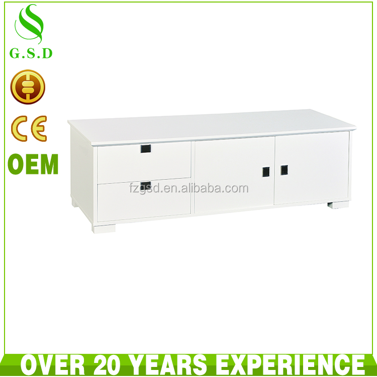 wholesale high quality latest design modern wood tv cabinet
