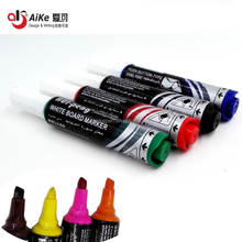 Push-Button Jumbo white board Markers Low order/chisel tip assorted color